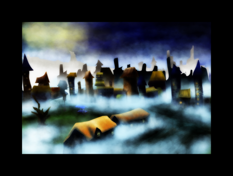Misty Evening City ©2012 w.m.ley